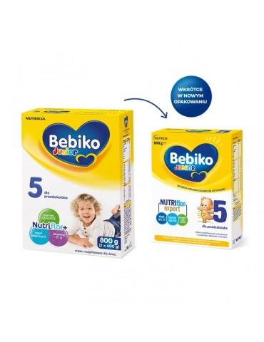 Mleko modyfikowane Bebiko 5 NutriFlor+ 800g dla przedszkolaka