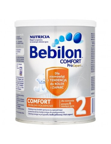 Mleko modyfikowane Bebilon Comfort 2 Pro Expert po 6. miesiącu 400g