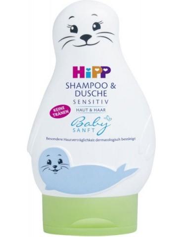 Żel-foczka do mycia ciała i włosów 200ml HiPP Babysanft