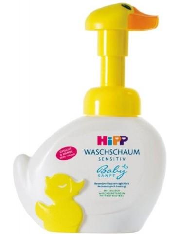 Pianka-kaczuszka do mycia twarzy i rąk 250ml HiPP Babysanft
