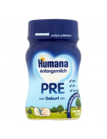 Humana 1 mleko początkowe od urodzenia płyn 90ml