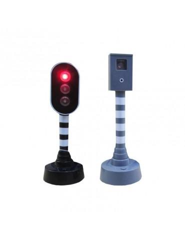 Radar i sygnalizator na baterie