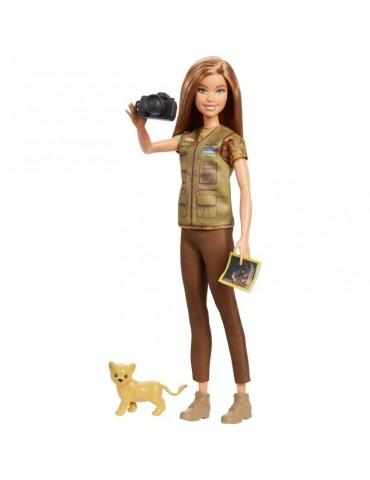 Barbie National Geographic Lalka Fotografka dzikiej przyrody