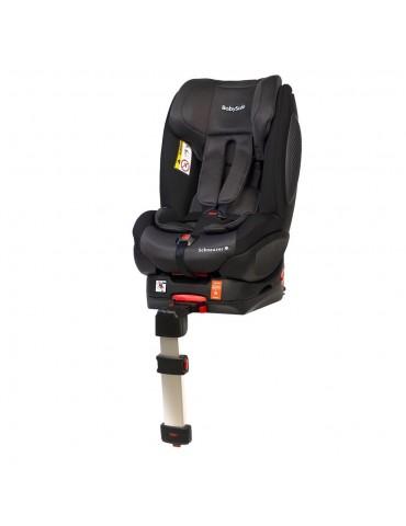Fotelik BabySafe SCHNAUZER Black mocowany pasem lub isofixem