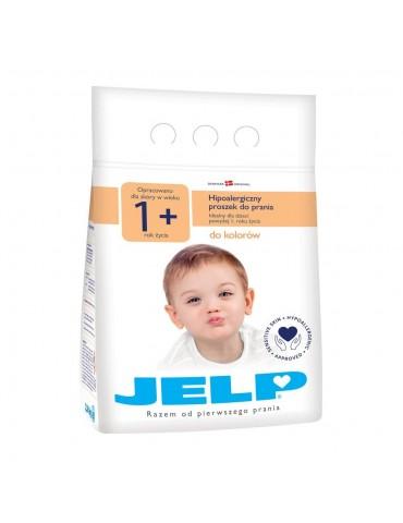 JELP 1+ Proszek hipoalergiczny do prania do kolorów 2,24 kg