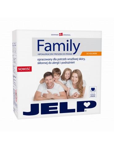 Jelp Family Proszek do prania ubrań kolorowych 2,24kg