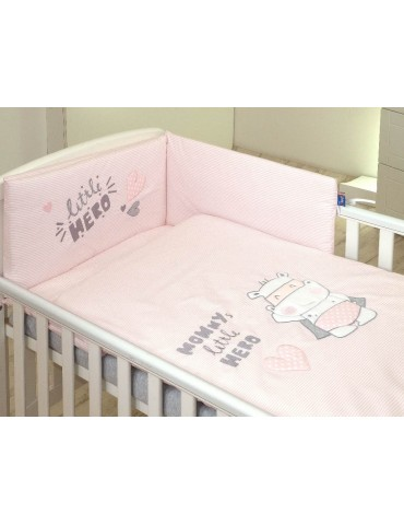 Pościel dla dzieci Amy 2-elementowa 135×100 Hero Pink