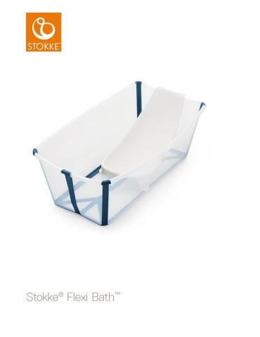 Stokke® Flexi Bath® zestaw wanienka z fotelikiem blue