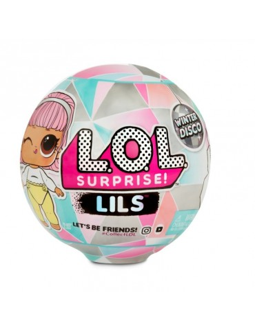 L.O.L. SURPRISE - Lils Siostrzyczki Laleczka LOL lub Zwierzątko Winter Disco Seria 1