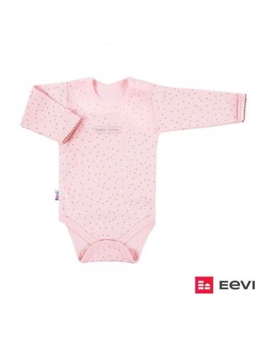 Body niemowlęce bawełniane kropki SKY 68 Ewa Klucze