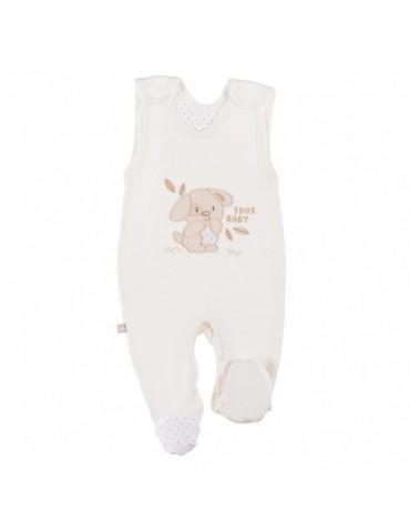 Śpioch niemowlęcy bawełniany ecru NEWBORN 50-62 Ewa Klucze