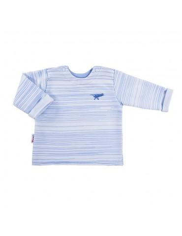 Bluza niemowlęca bawełniana chłopięca SKY 68-74 Ewa Klucze