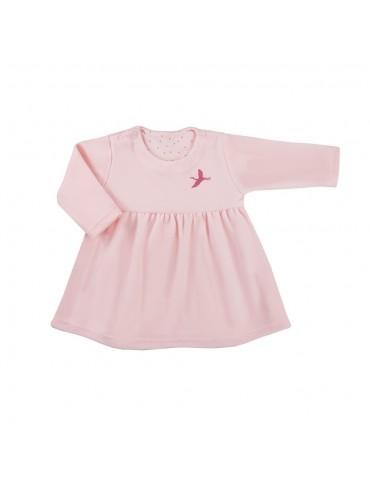 Sukienka niemowlęca welurowa SKY 68-74 Ewa Klucze