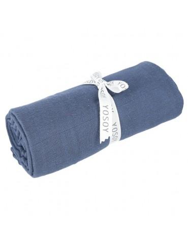Yosoy Otulacz muślinowy organic cotton muslin Jeans