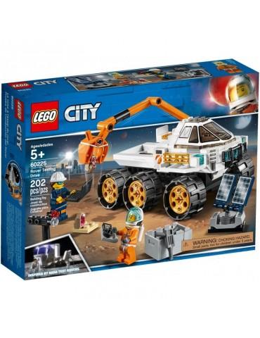 Lego City Jazda Próbna łazikiem