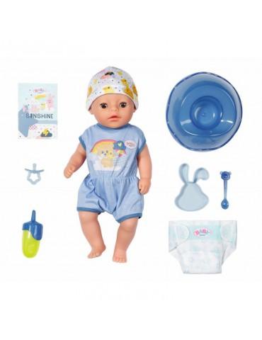 BABY born Mała Lalka interaktywna Soft Touch Chłopiec 36 cm