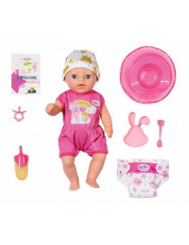 BABY born Mała Lalka interaktywna Soft Touch Dziewczynka 36 cm