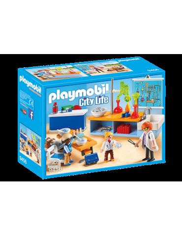 Sala do lekcji chemii Playmobil