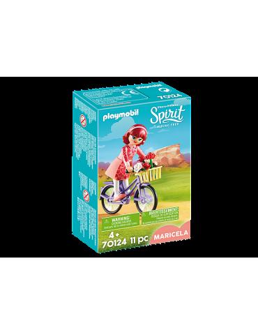 Maricela z rowerem Playmobil