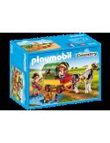 Wycieczka bryczką kucyków Playmobil