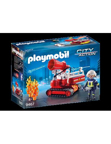 Robot do gaszenia pożaru Playmobil