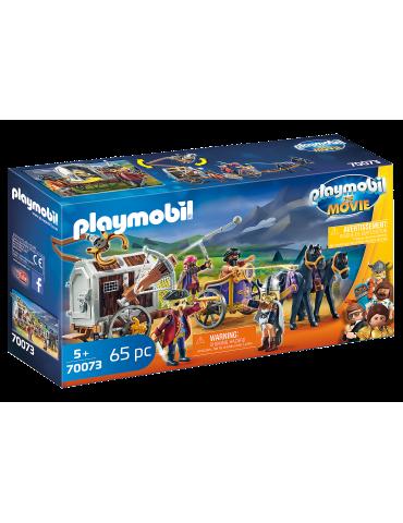 THE MOVIE Charlie i powóz rzezimieszków Playmobil