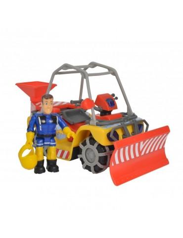 Simba Strażak Sam Pojazd ratowniczy Śnieżny Quad Mercury z figurką