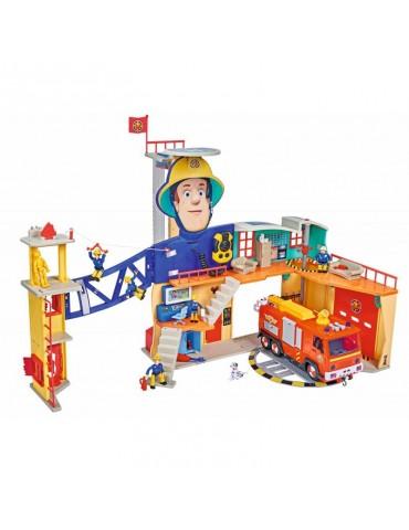 Simba Strażak Sam Remiza strażacka XXL z figurką Światło Dźwięk