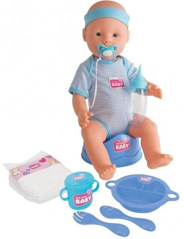 Lalka funkcyjna New Born Baby Chłopiec Simba