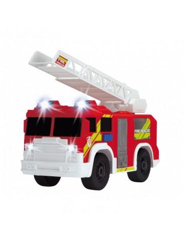 Dickie Action Series Straż Pożarna czerwona z drabiną 30 cm Światło Dźwięk