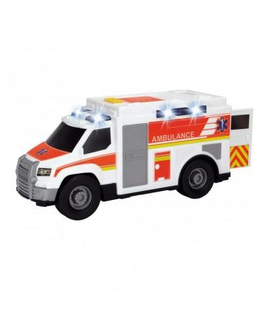 Dickie Action Series Ambulans biały 30 cm Światło Dźwięk