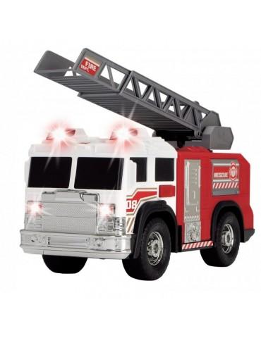 Dickie Action Series Straż Pożarna biała z drabiną 30 cm Światło Dźwięk