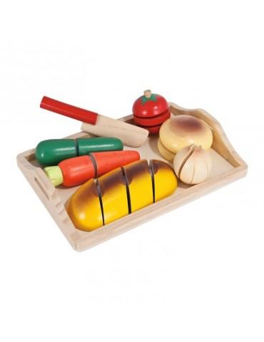 Eichhorn Deska do krojenia z pieczywem i warzywami