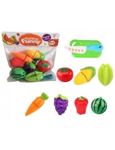 Owoce i warzywa plastikowe na rzepy w worku