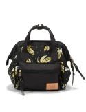 La Millou mini plecak/torebka Dolce Vita (Banana Black)