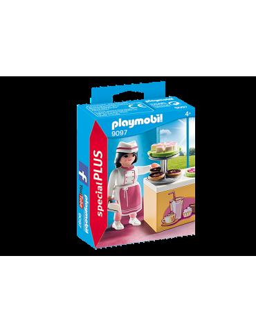 Playmobil Pani Cukiernik przy ladzie