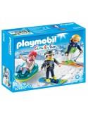Playmobil Sportowcy zimowi