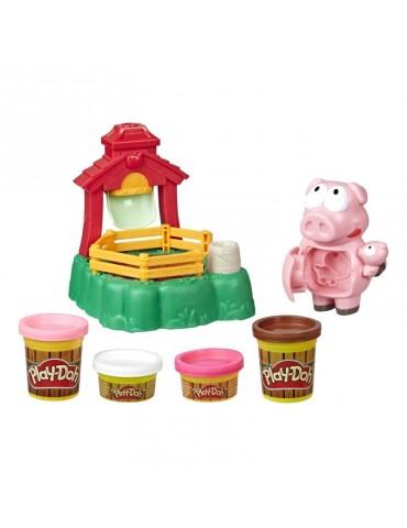 PlayDoh Ciastolina Farma Błotne Świnki