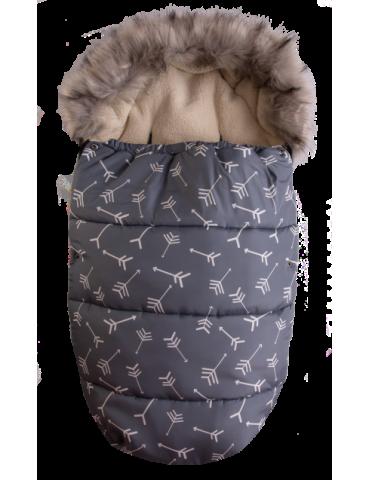 BabyMatex Venus Strzałki śpiworek mufka