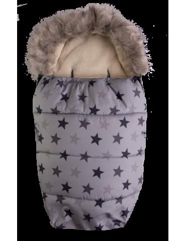 BabyMatex Venus Gwiazdki śpiworek mufka