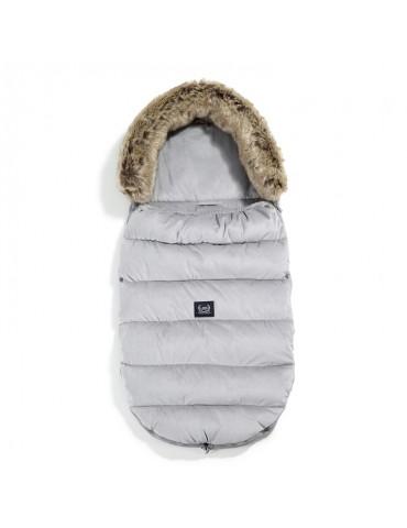 La Millou Velvet Collection Aspen Śpiworek Winterproof Stroller Bag Uni Dark Grey