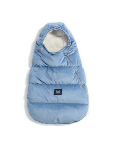 La Millou Śpiworek do wózka Aspen Velvet Collection ( Dove Blue)