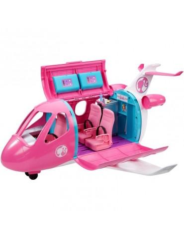 Barbie Dreamhouse Adventures Różowy Samolot Barbie i 15 Akcesoriów