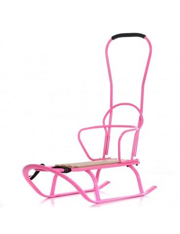 Tako Sanki metalowe Linea Flo 01 pink