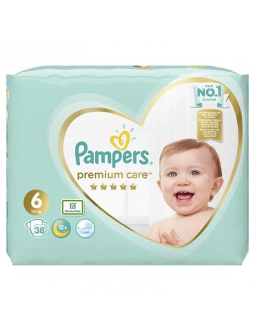 Pampers Pieluchy Extra Large 6 Premium Care (13+ kg) 38 szt