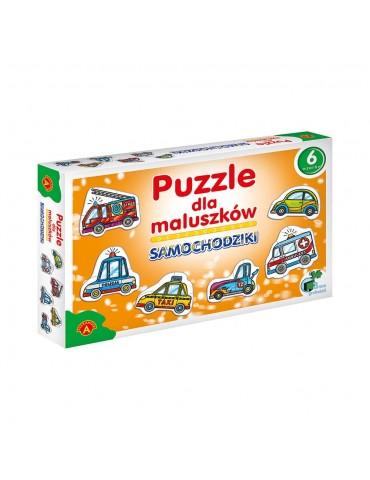 Puzzle dla Maluszków Aleksander SAMOCHODZIKI
