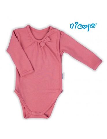 Body niemowlęce bawełniane długi rękaw FOREST 52-68 Nicola