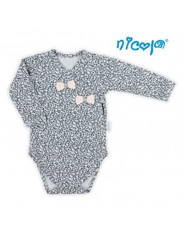 Body niemowlęce bawełniane długi rękaw POLA 52-68 Nicola