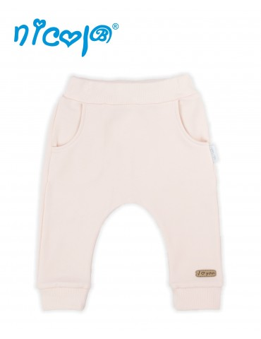 Spodnie niemowlęce dresowe POLA 62-74 Nicola