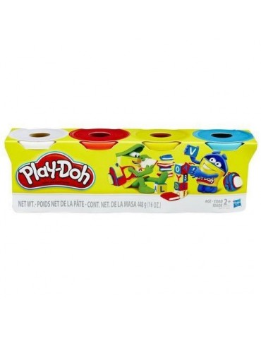 Hasbro Play doh mix kolorów 4 tuby